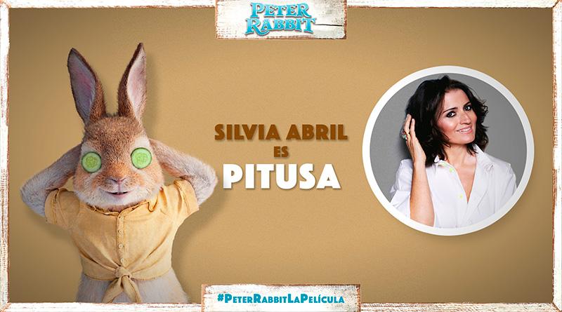 'Peter Rabbit': Silvia Abril presta su voz a la rebelde Pitusa