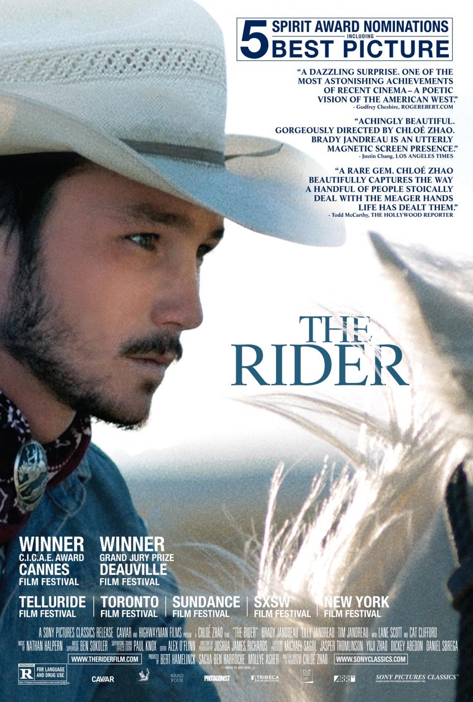 'The Rider': Póster y tráiler internacional de la Espiga de Plata de la 62 SEMINCI