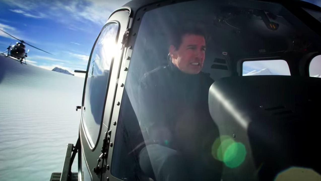 """'Misión: Imposible - Fallout': Featurette """"Aerial"""" con Tom Cruise pilotando un helicóptero"""