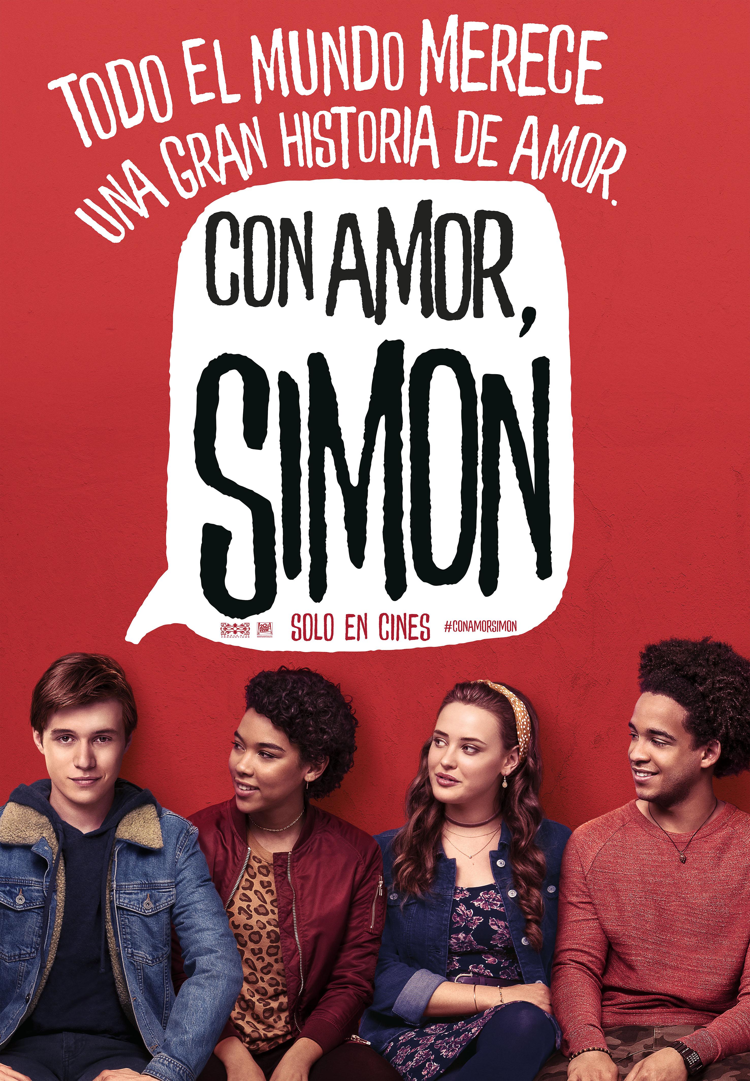 'Con amor, Simon': Póster y tráiler español de la comedia de Greg Berlanti