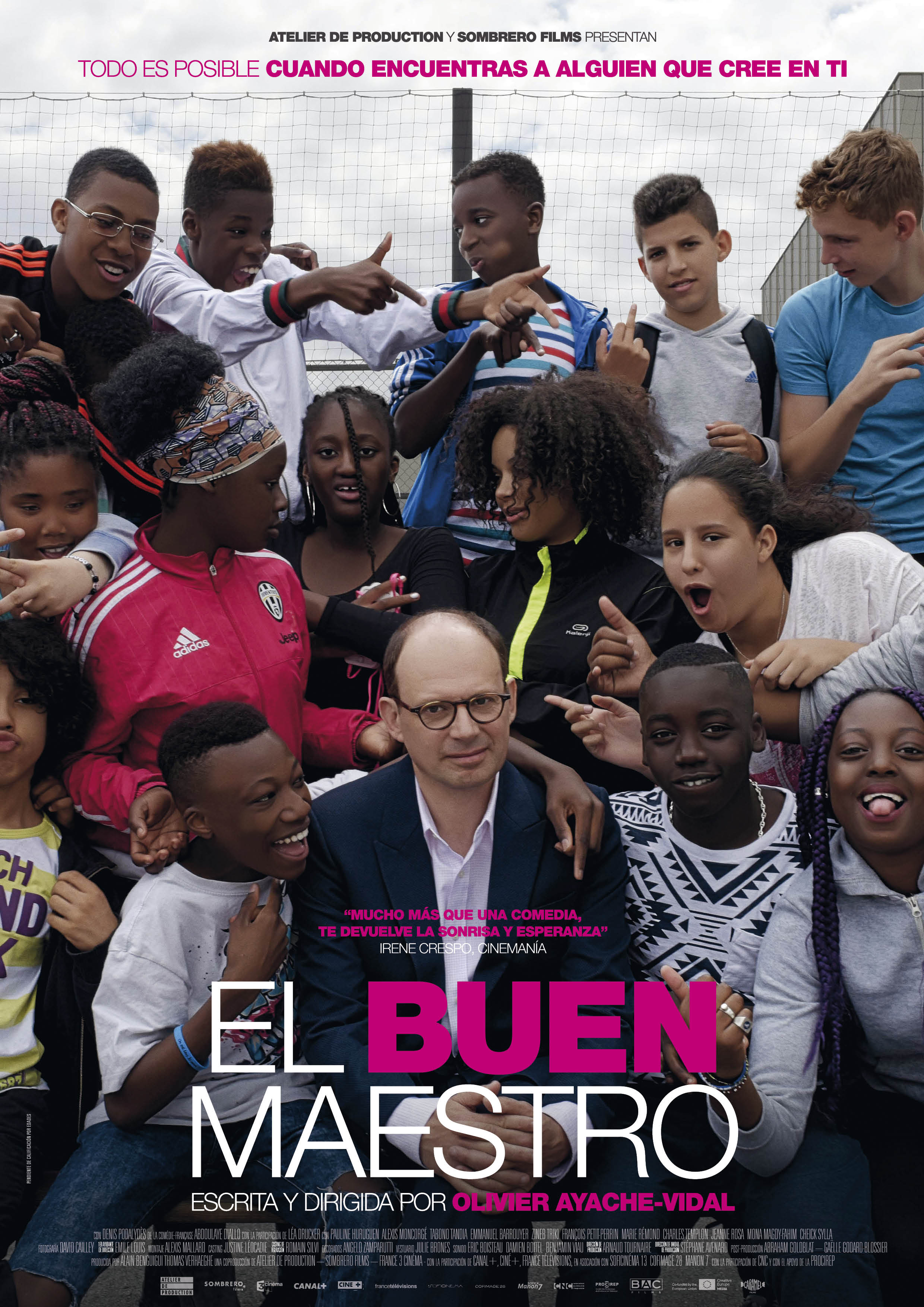 'El buen maestro': Póster y tráiler de la revelación francesa de la temporada