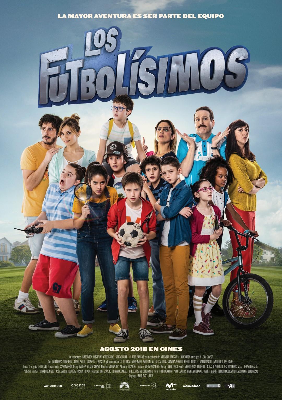 'Los Futbolísimos': Póster y nuevo tráiler de la película basada en la aclamada saga infantil