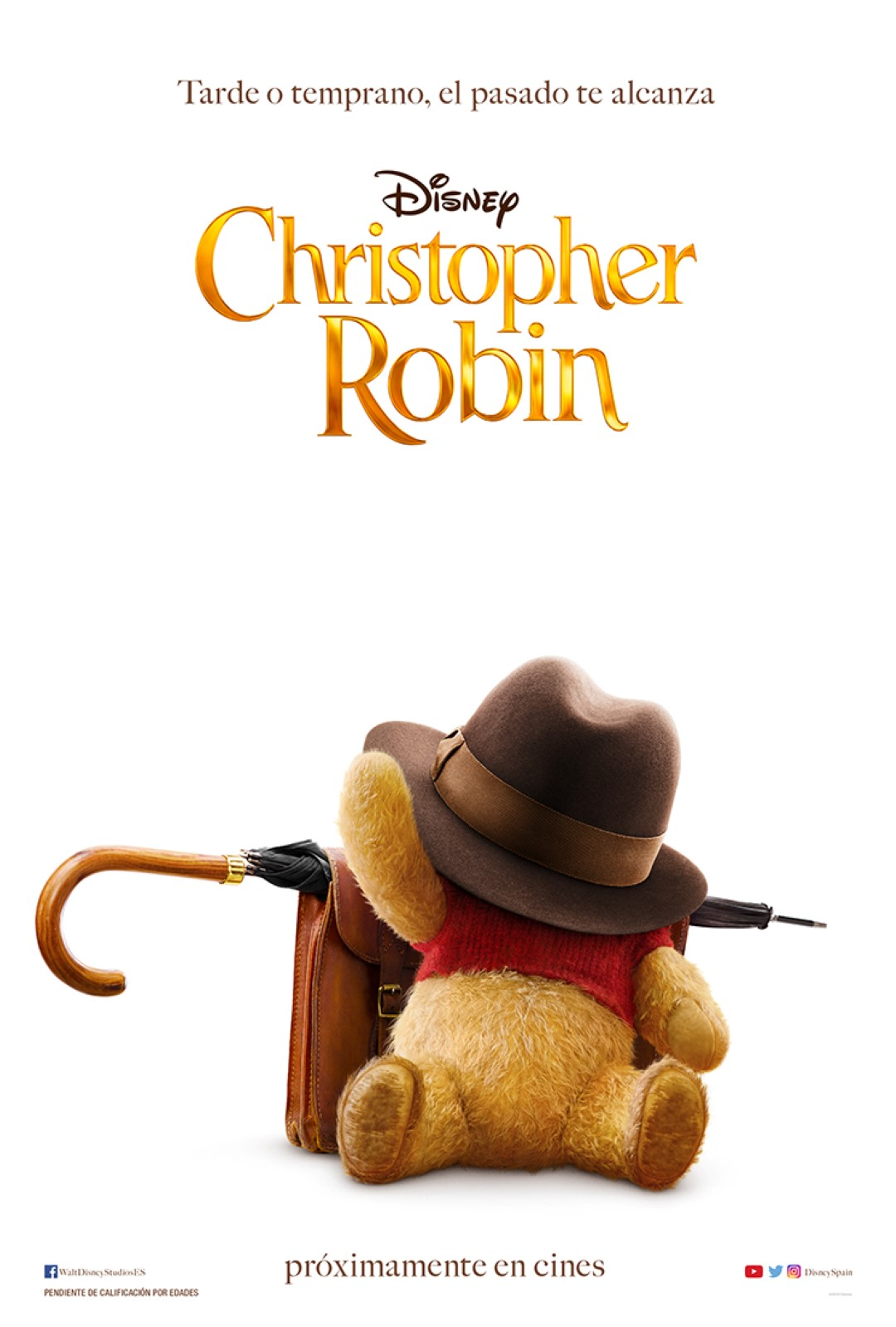 'Christopher Robin': Póster y tráiler de la película de Winnie the Pooh