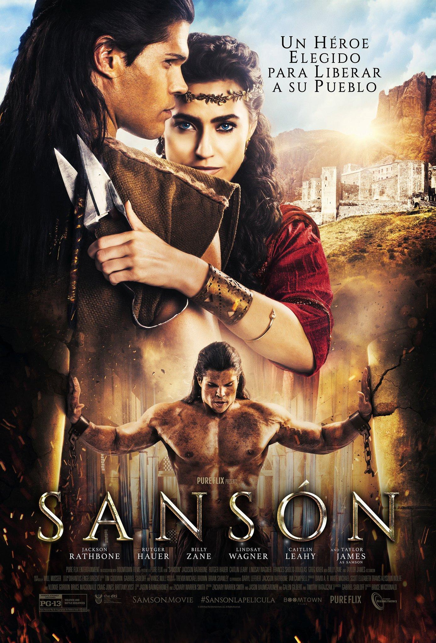 'Sansón': Póster de la nueva película épica con Billy Zane y Rutger Hauer