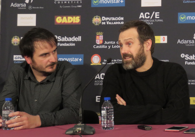 Aitor Arregui y Jose Mari Goenaga