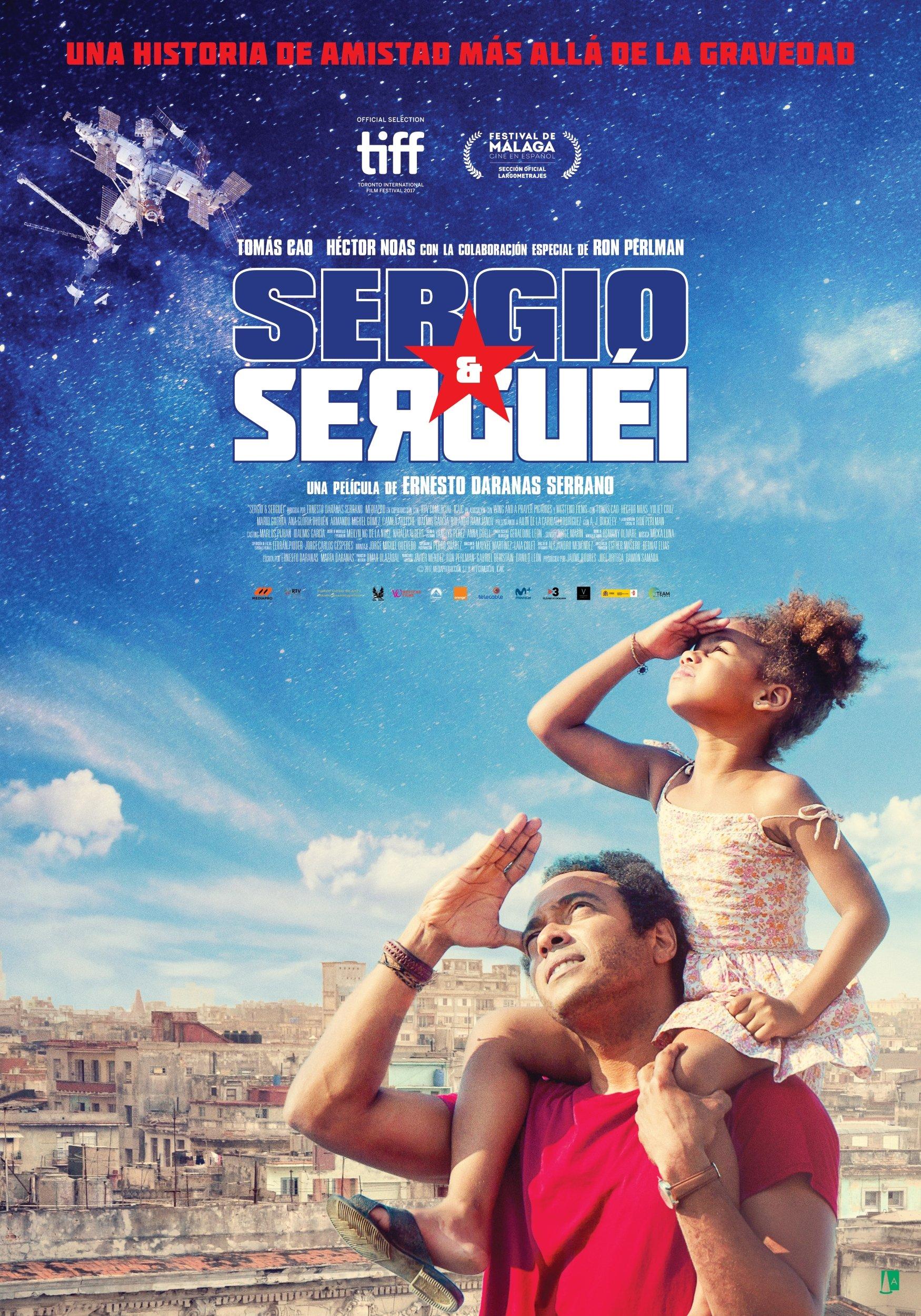 'Sergio y Serguéi': Póster y tráiler de lo nuevo de Ernesto Darana