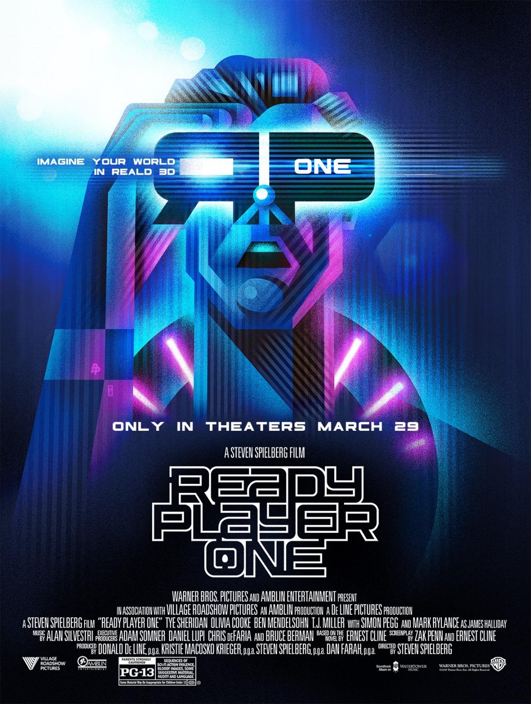 'Ready Player One': Nuevo póster para promocionar el Real3D