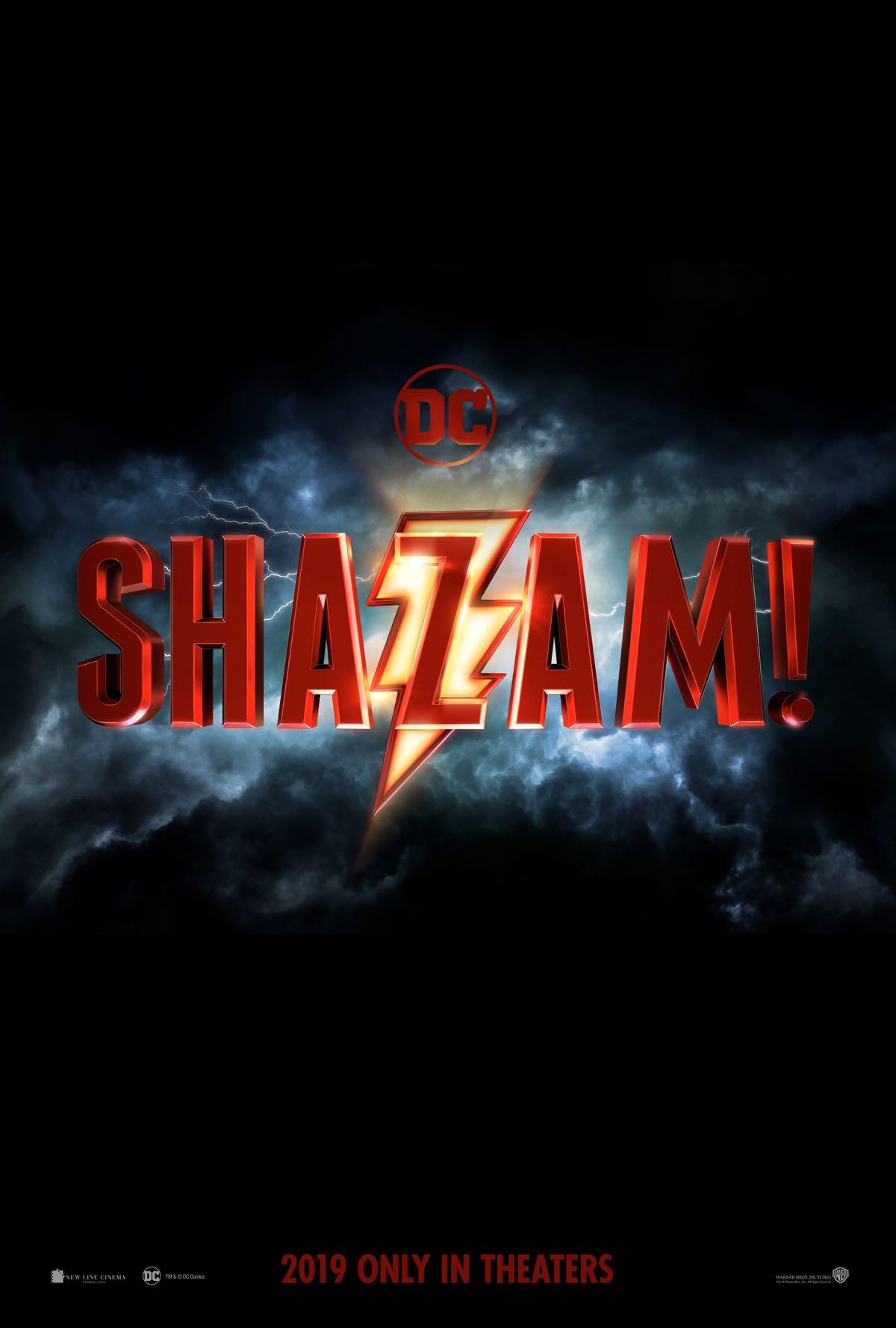 'Shazam': Revelado el logo oficial de la adaptación de DC Comics