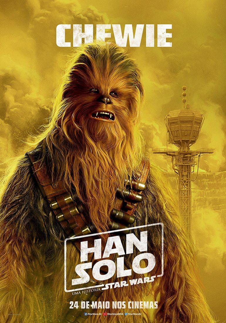 'Han Solo: una historia de Star Wars': Colorida remesa de pósters de personajes