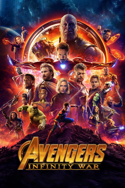 """Pósters de la película """"Vengadores: Infinity War"""""""