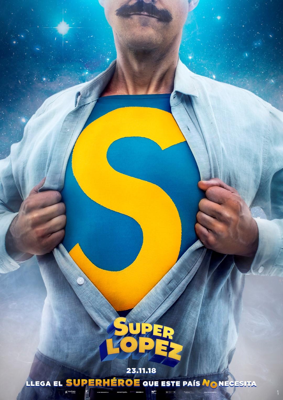 'Superlópez': Teaser póster presentado en el Salón del Cómic de Barcelona
