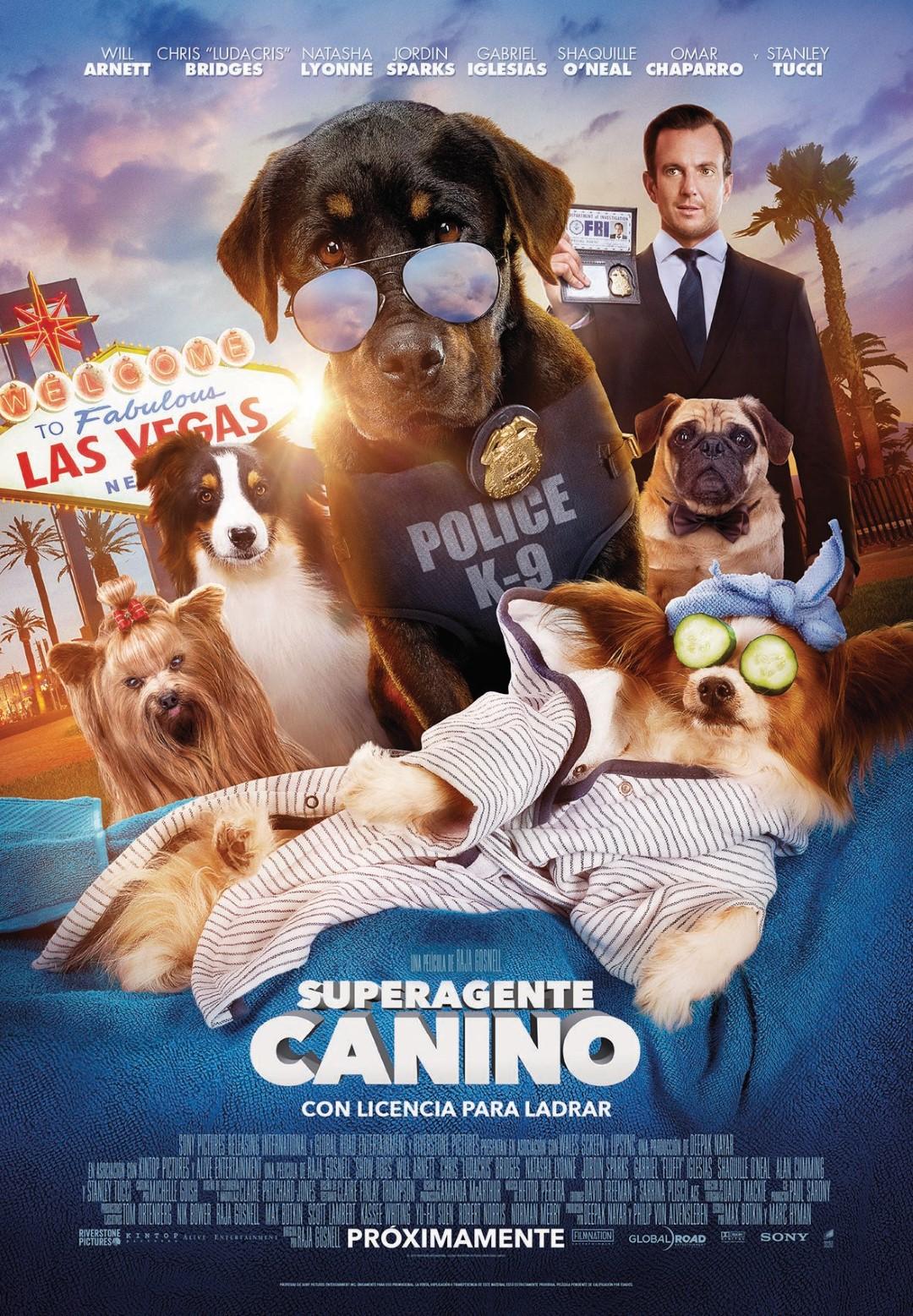 'Superagente canino': Póster y tráiler de la nueva comedia perruna