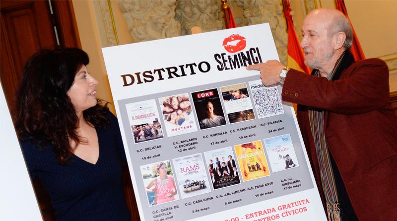 Los centros cívicos de Valladolid acogerán el ciclo 'Distrito Seminci'