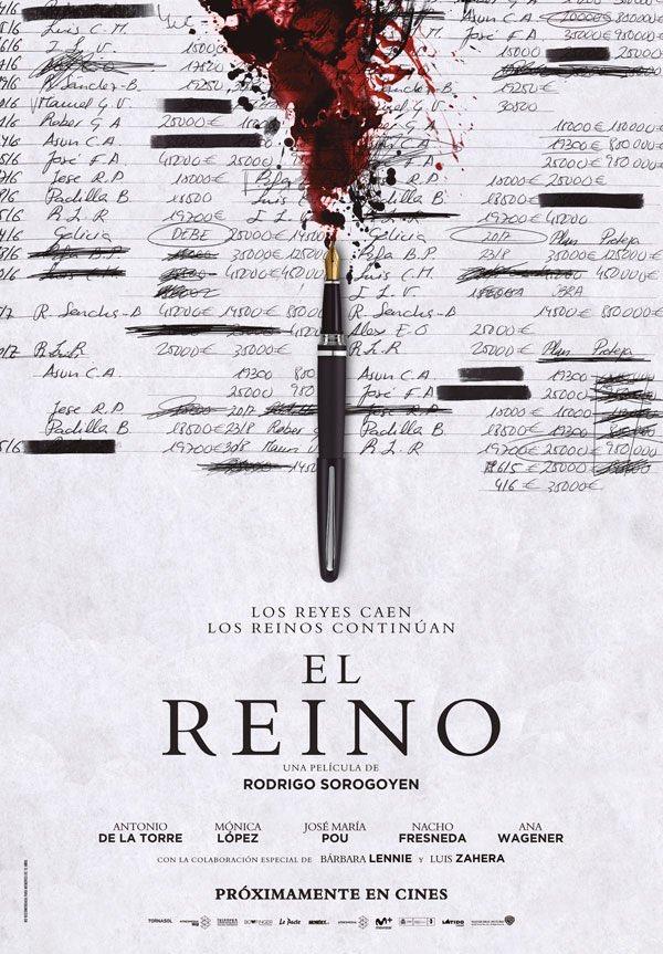'El reino': Teaser tráiler y póster de lo nuevo de Rodrigo Sorogoyen