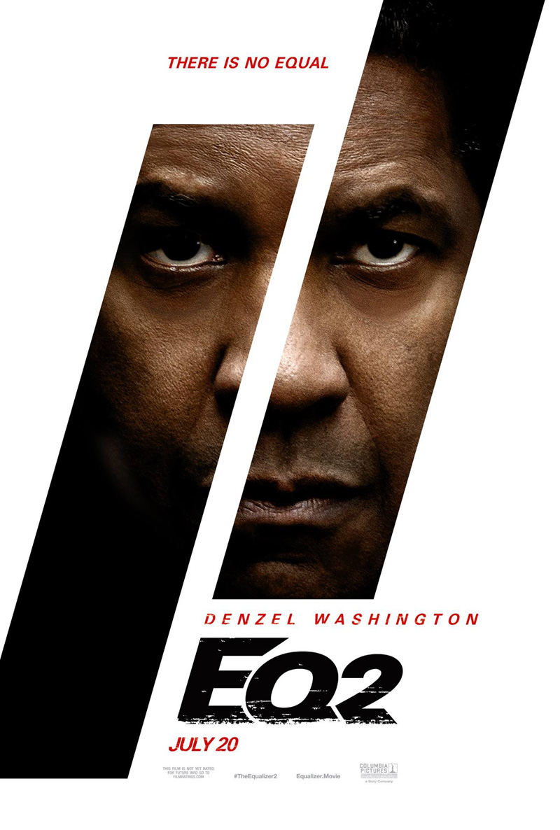 'The Equalizer 2': Póster con Denzel Washington como Robert McCall