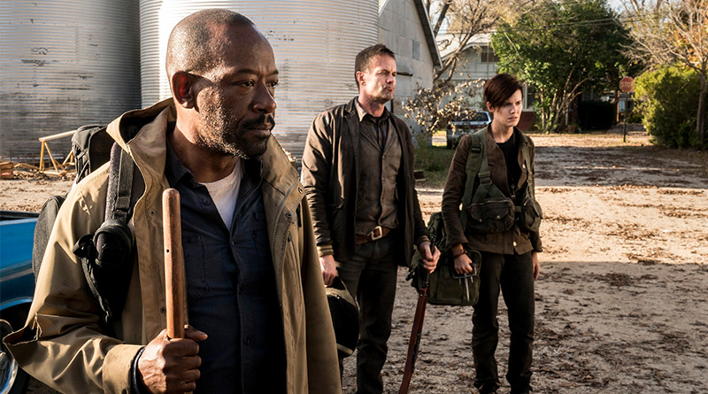 'Fear The Walking Dead': El lunes AMC estrena la cuarta temporada