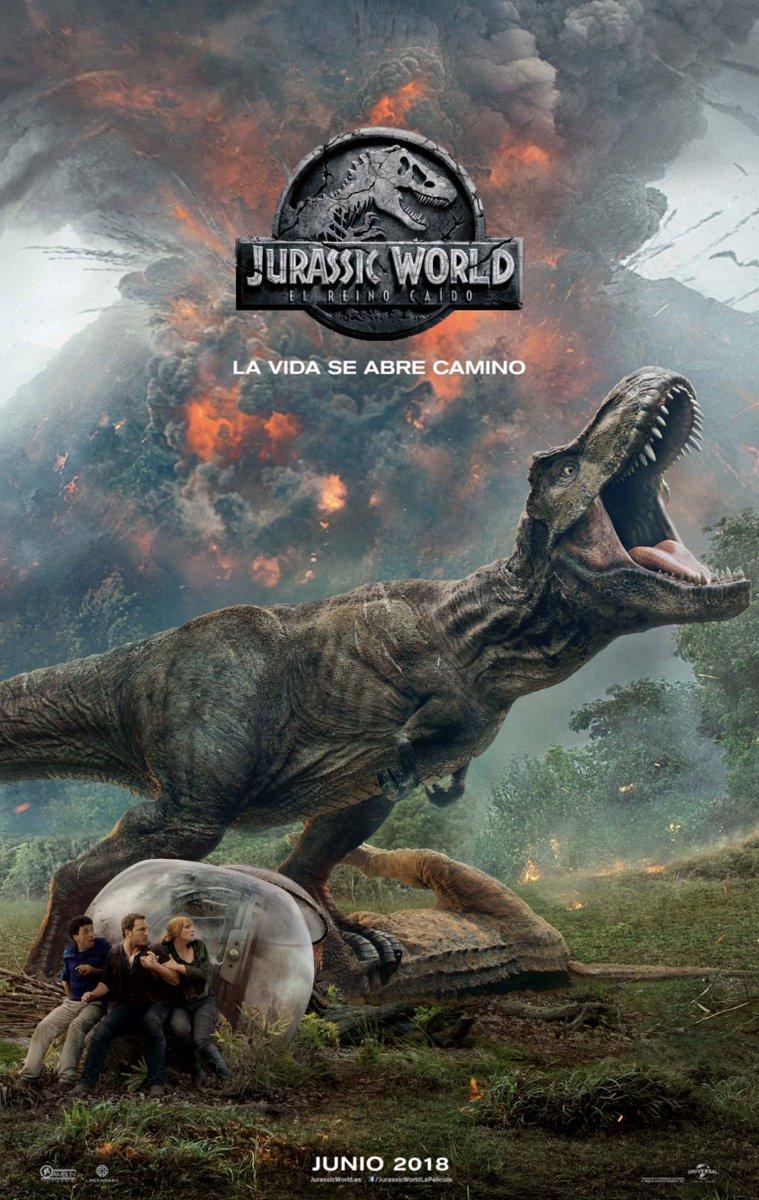 'Jurassic World: el reino caído': Póster como adelanto del esperado tráiler final