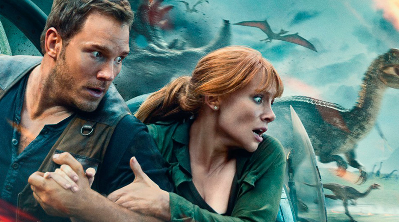 'Jurassic World: el reino caído': Nuevo póster con los protagonistas humanos