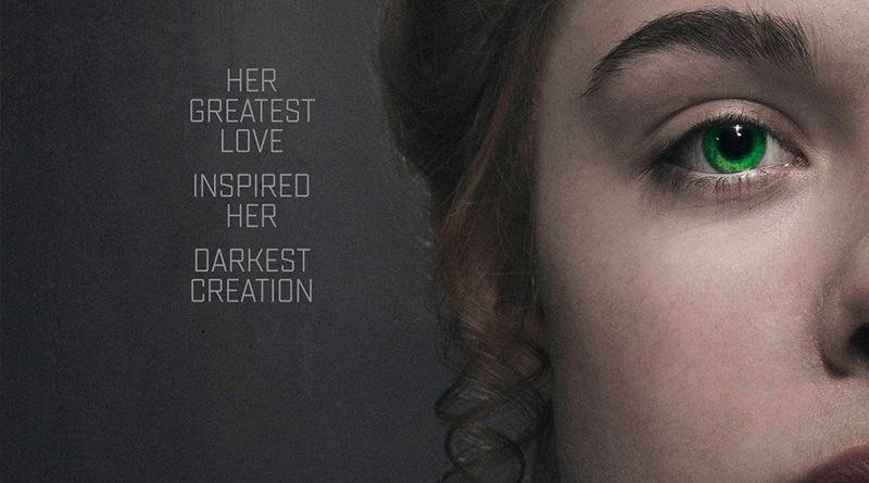 'Mary Shelley': Póster de la película de Haifaa Al-Mansour con Elle Fanning