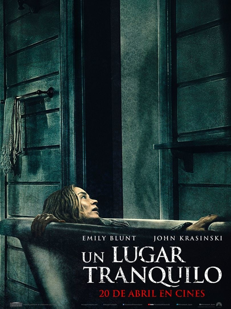 """Pósters de la película """"Un lugar tranquilo"""""""