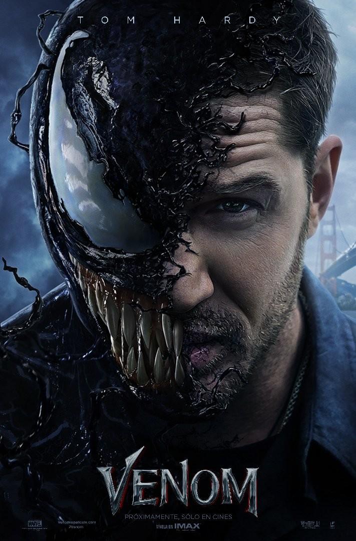 'Venom': El simbionte se deja ver en el tráiler oficial y el nuevo póster
