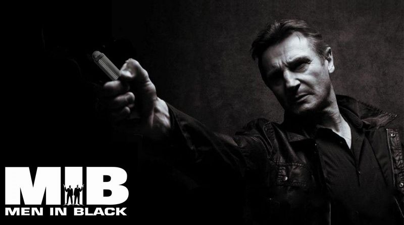 Liam Neeson Men in black