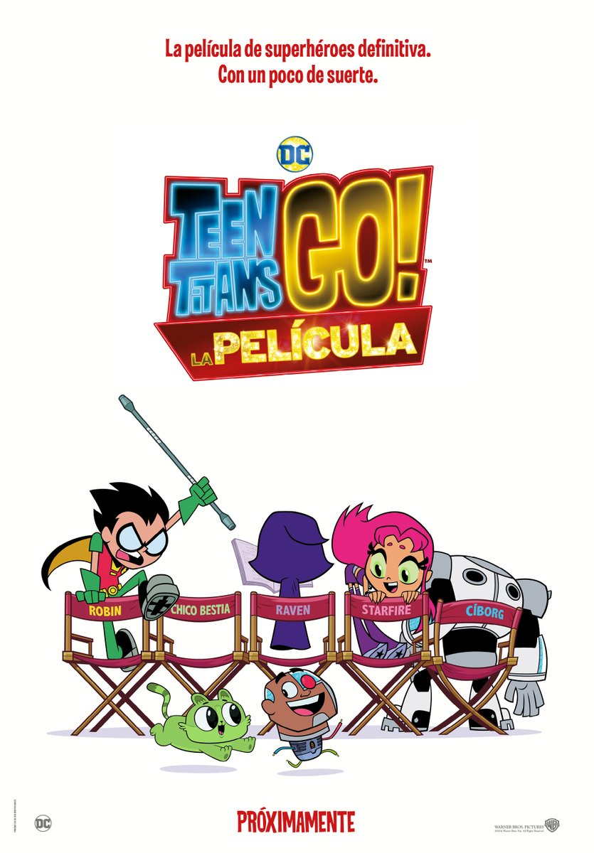 'Teen Titans GO La Película': Póster y tráiler oficial en castellano