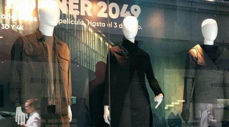 Exposición con el vestuario de los personajes principales de 'Blade Runner 2049'