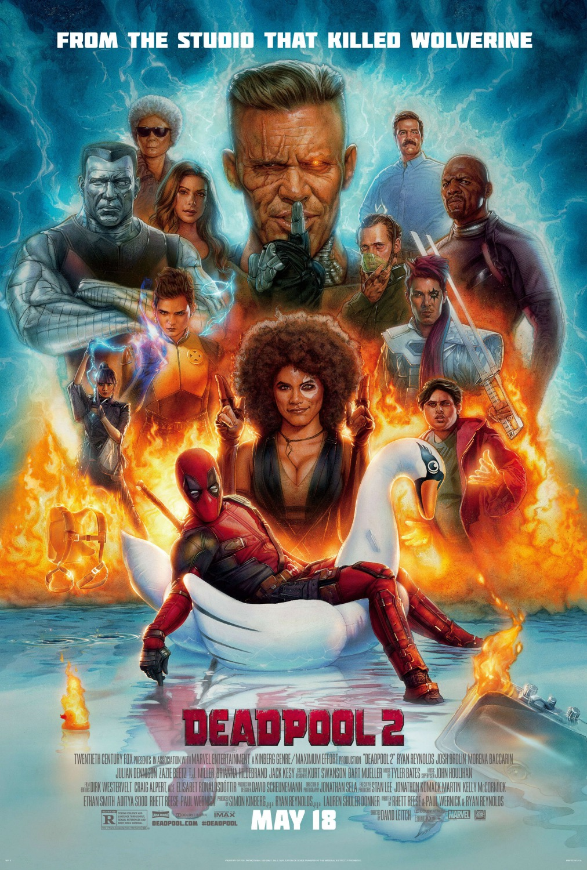 'Deadpool 2': Póster final a falta de 10 días para el estreno