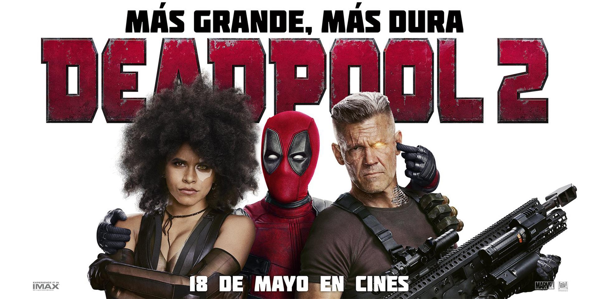 Sorteo 10º aniversario (VI): Merchandising de 'Deadpool 2' gracias a 20th Century Fox