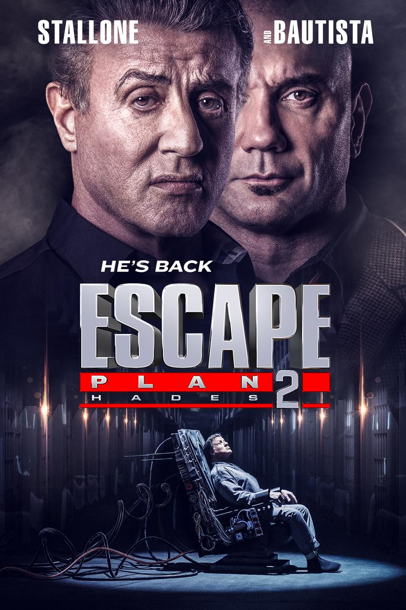 'Escape Plan 2': Póster y tráiler de la secuela de 'Plan de escape'
