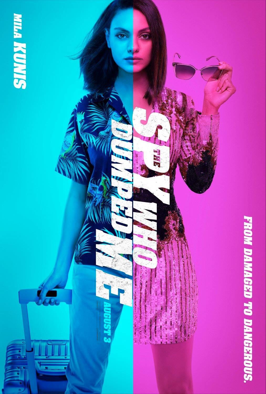 'La espía que me plantó': Colorida remesa de pósters de la comedia con Mila Kunis