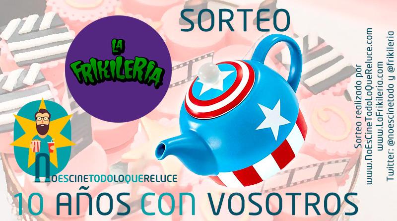 Sorteo 10º aniversario: Tetera del Capitán América gracias a La Frikileria