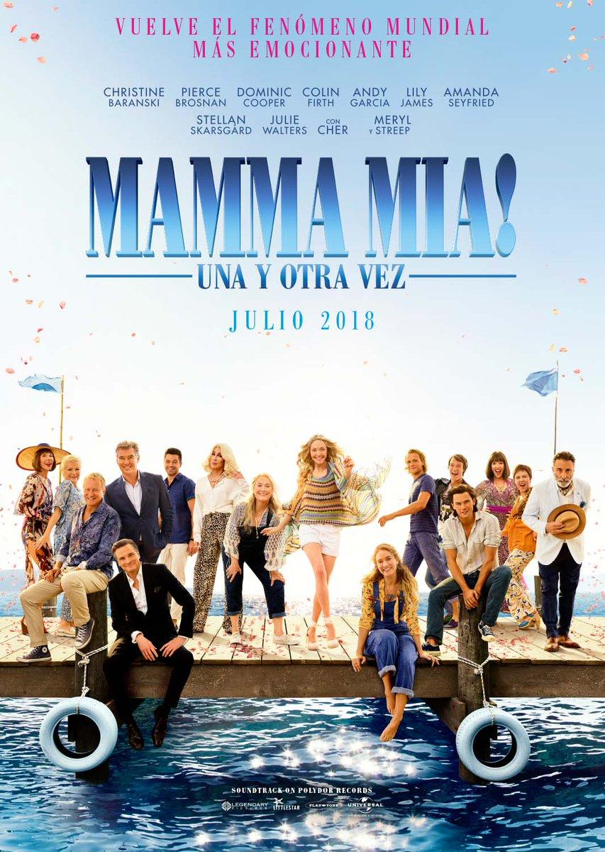 'Mamma Mia! Una y otra vez': Póster y tráiler final español