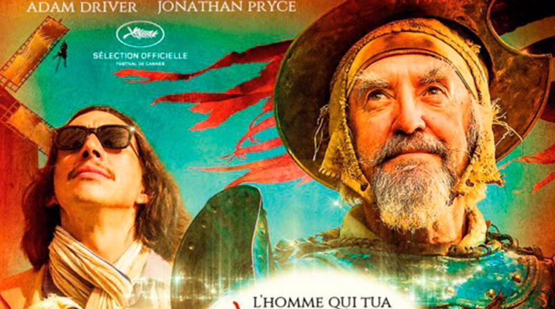 'El Hombre que mató a Don Quijote': Póster de la esperada película de Terry Gilliam