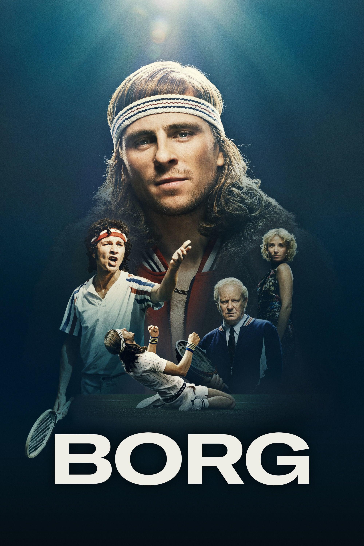 "Pósters de la película ""Borg vs McEnroe"""