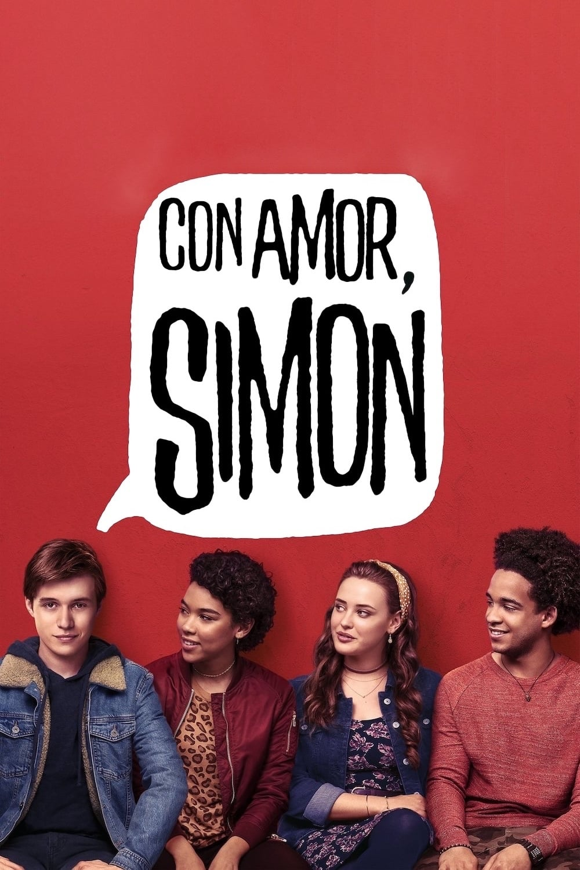 "Pósters de la película ""Con amor, Simon"""