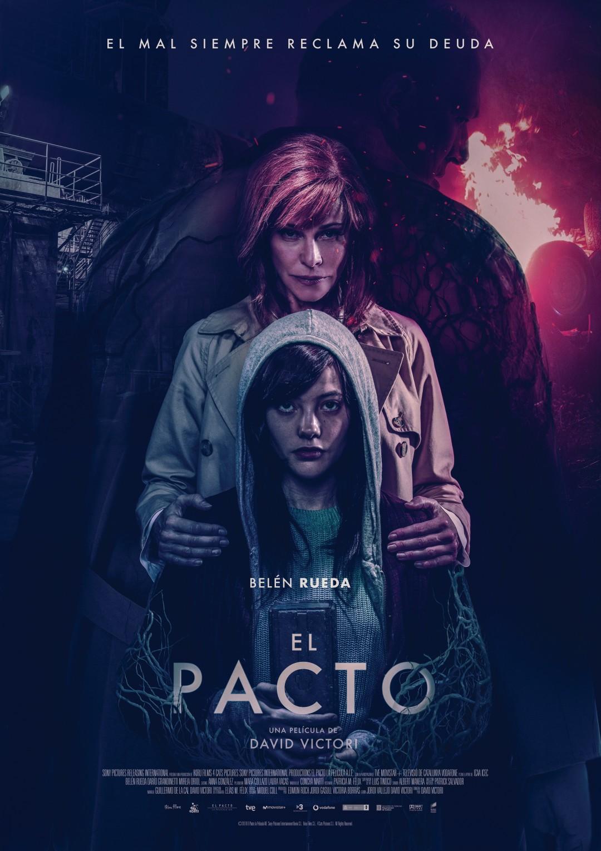 'El pacto': Póster final de la película de terror con Belén Rueda