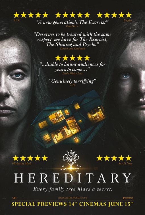 'Hereditary': Las buenas críticas acaparan el nuevo póster