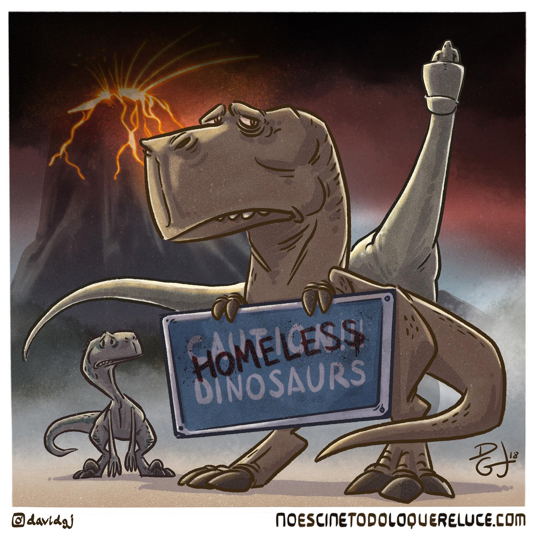 Celuloide Ilustrado: Jurassic World: el reino caído