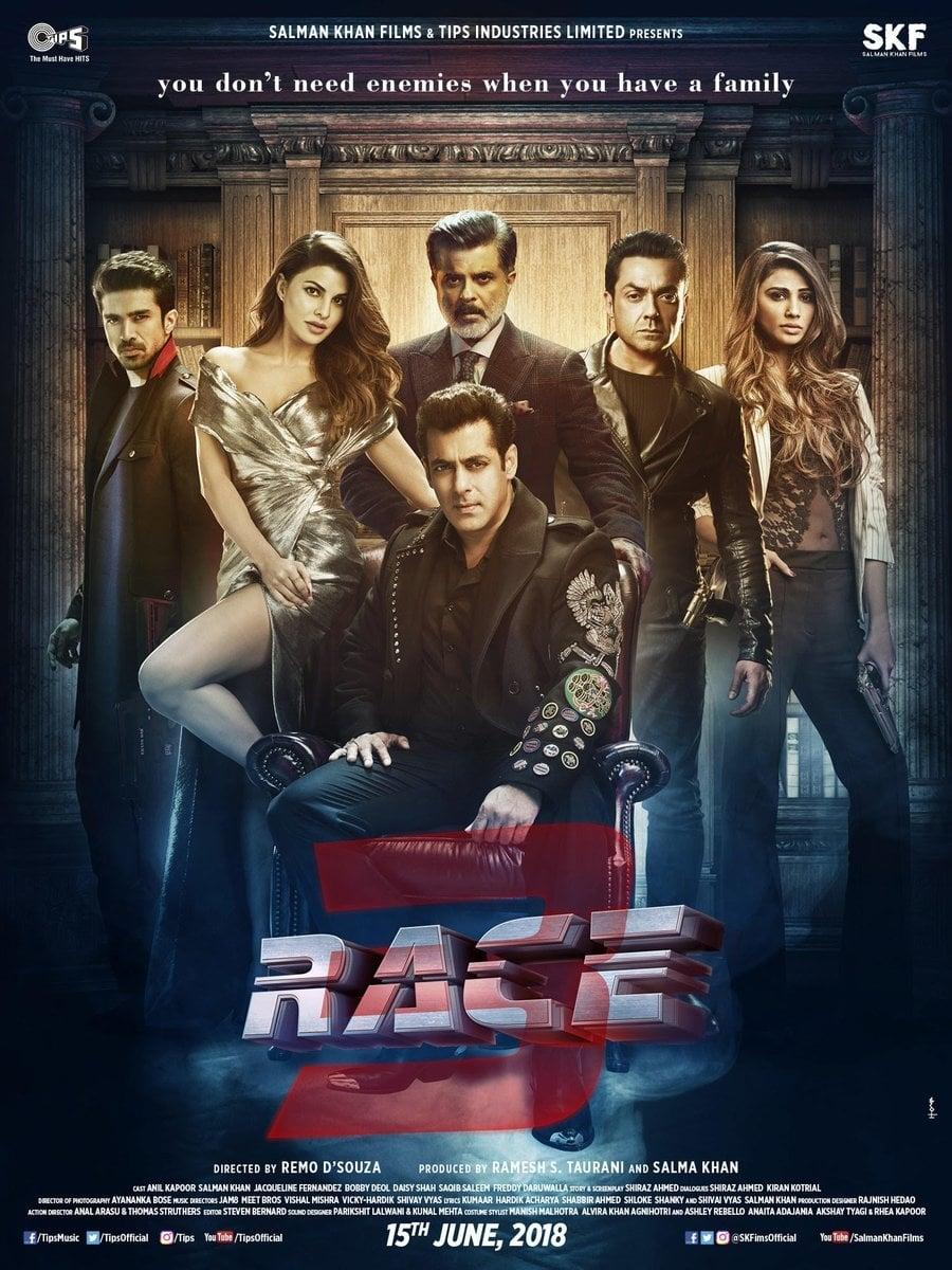 "Pósters de la película ""Race 3"""