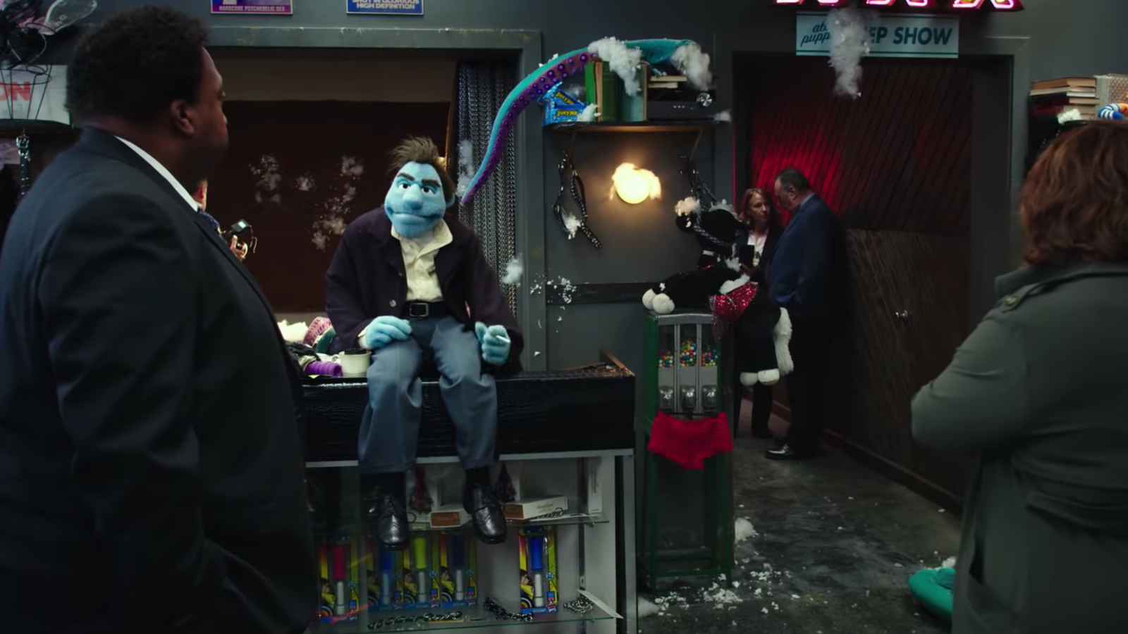 Concept Art from THE HAPPYTIME MURDERS Katherine Heigl may star in the film noir puppet comedy THE HAPPY TIME MURDERS directed by Brian Henson