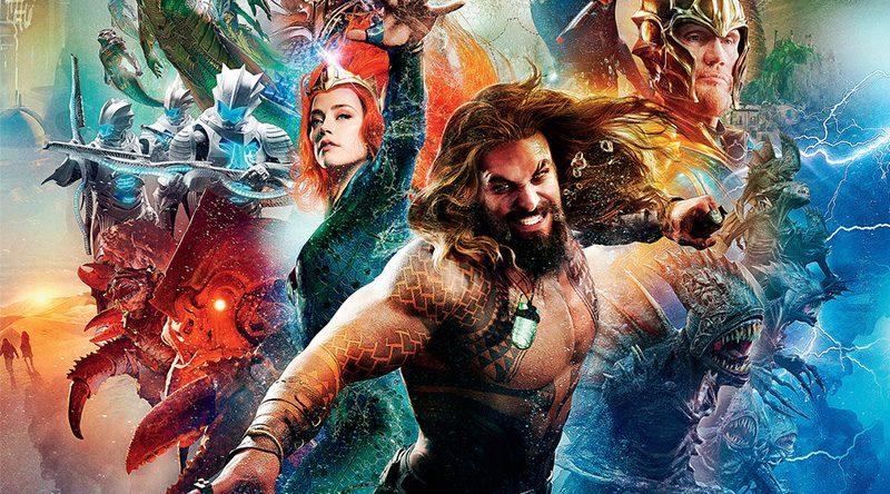 'Aquaman': Batiburrillo de personajes en el póster de la Comic-Con