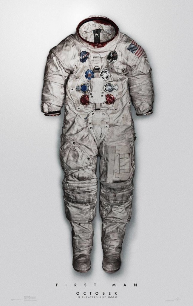 Póster First Man Traje