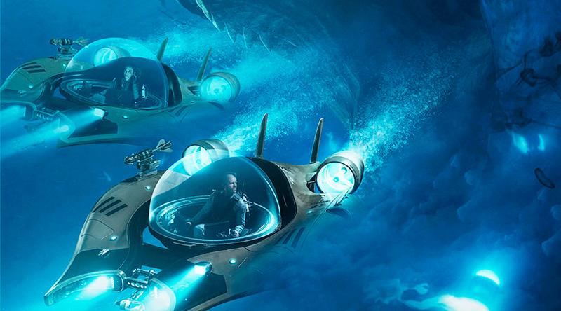 'Megalodón': Nuevo póster de Jason Statham contra la gran bestia marina
