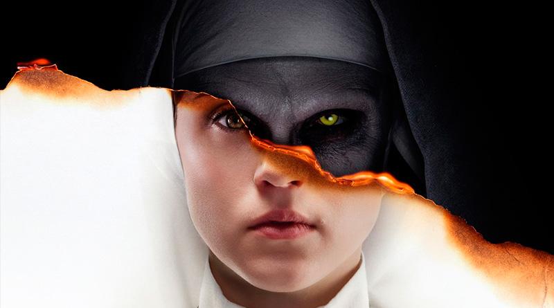 'La Monja': Nuevo póster con las dos caras de la monja de 'Expediente Warren: El caso Enfield'