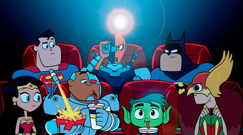 'Teen Titans GO La Película': Nuevo póster con lo que no hay que hacer en el cine