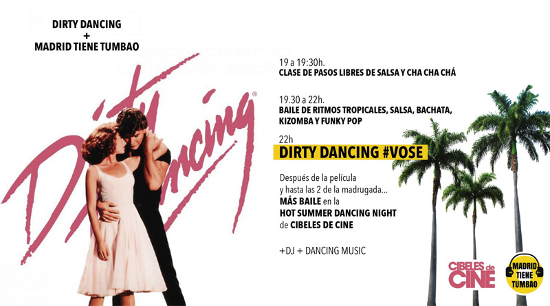 "Cibeles de Cine celebra ""Hot Summer Dancing Night"" en torno a 'Dirty Dancing'"