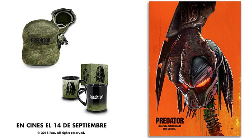 Sorteo 'Predator': Lotes de merchandising gracias a 20th Century Fox