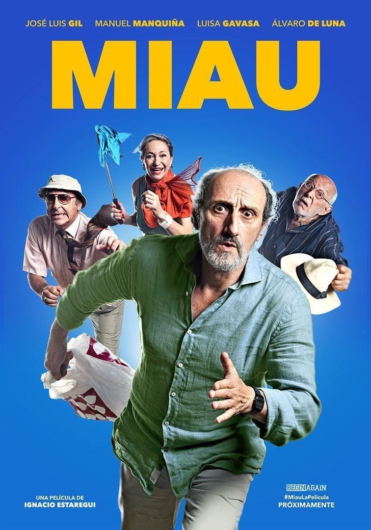 """Pósters de la película """"Miau"""""""